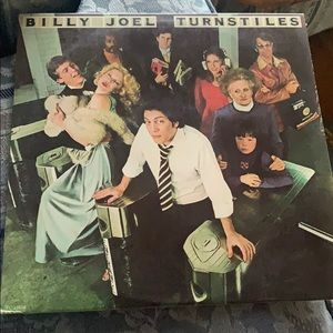 Turnstiles by Billy Joel Vinyl Album